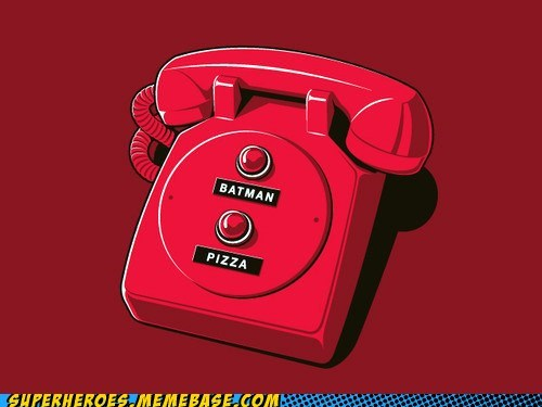 Awesome Art batman buttons phone pizza - 5720221184