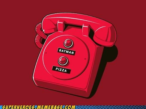 Awesome Art batman phone pizza - 5720221184