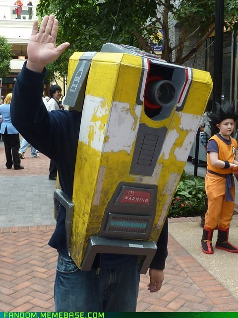 borderlands cl4p-tp claptrap cosplay video games - 5720314368