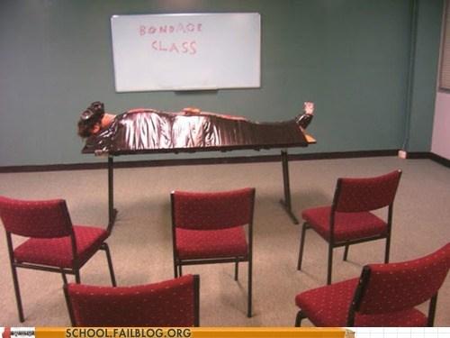 bondage,classroom,guest,lecture