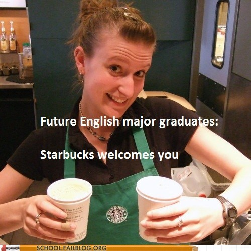 barista,coffee,english,graduate,Hall of Fame,Starbucks,the future