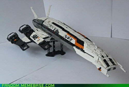 legos mass effect normandy video games - 5720729088