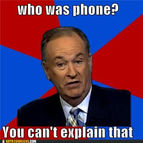AutocoWrecks,g rated,oreilly,phone,who was phone,you-cant-explain-that