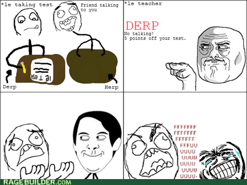 fu guy Rage Comics test truancy story - 5721156096