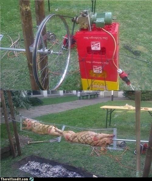 cooking motor roast spit wheel - 5721289728