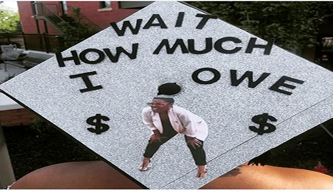 funny grad hats