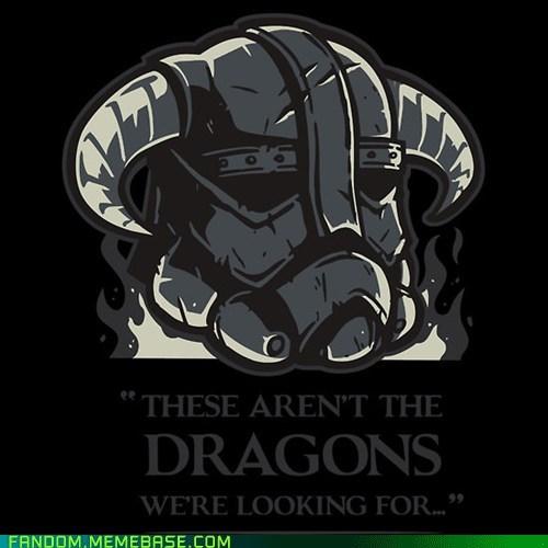 crossover Fan Art Skyrim star wars video games - 5721554432