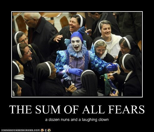 clowns,nuns,political pictures