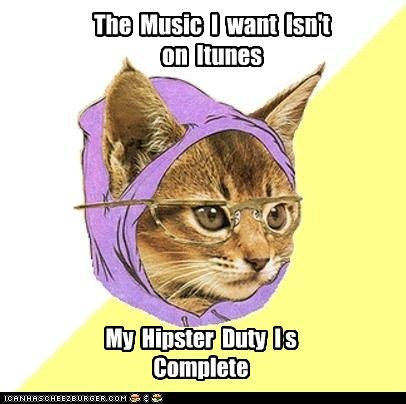 Cats complete duty Hipster Kitty hipsters iTunes Music - 5722565632