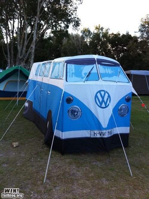 camping clever design tent van volkswagen - 5723764480