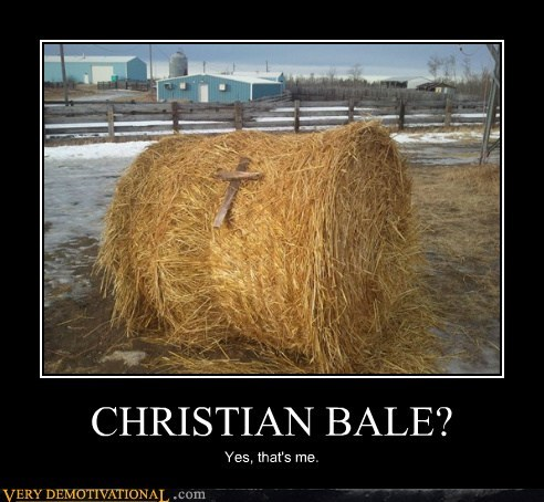 christian bale cross hilarious wtf