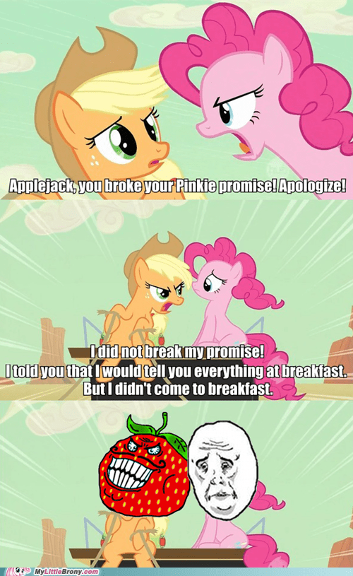 applejack. loophole. I to applejack-loophole-i-told-the-truth comic comics - 5724132608