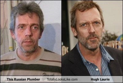 funny hugh laurie russian plumber TLL - 5724506112