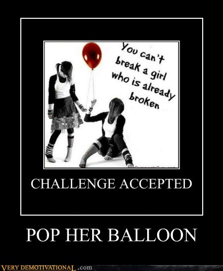 POP HER BALLOON