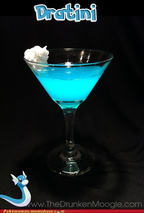 alcohol best of week dratini IRL martini the drunken moogle