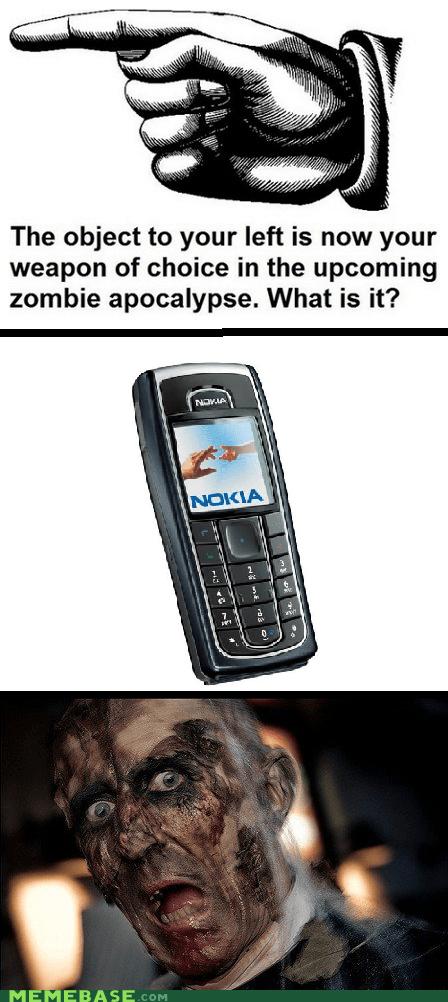apocalypse,Memes,nokia,winner,zombie