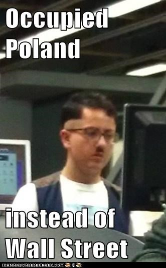 adolf hipster,hipsterlulz,Occupy Wall Street,poland