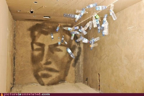 art,bottles,shadows,wtf