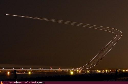 plane,road,sky,wtf