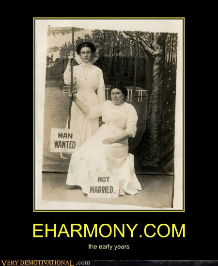 eharmony early years,hilarious,old timey