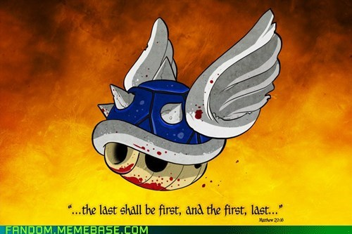 best of week blue shell Fan Art fandom Mario Kart video games - 5727915520