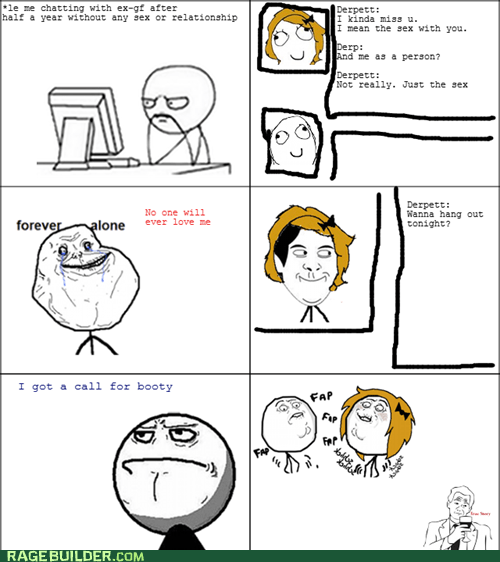 forever alone Rage Comics relationships sexy times - 5729386496
