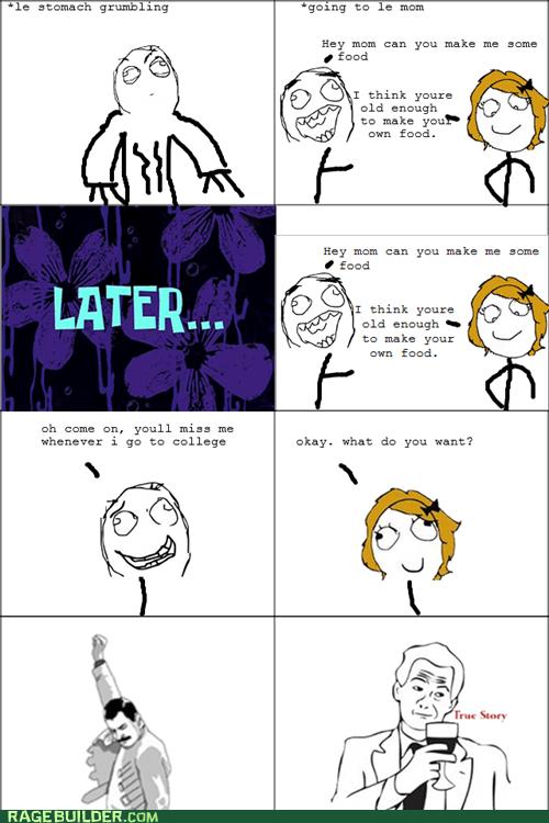 hungry mom Rage Comics true story - 5729477376