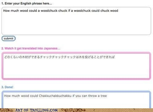 engrish woodchuck wtf