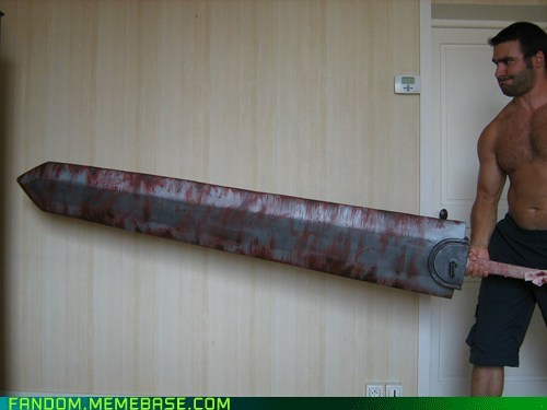 Fan Art huge prop sword