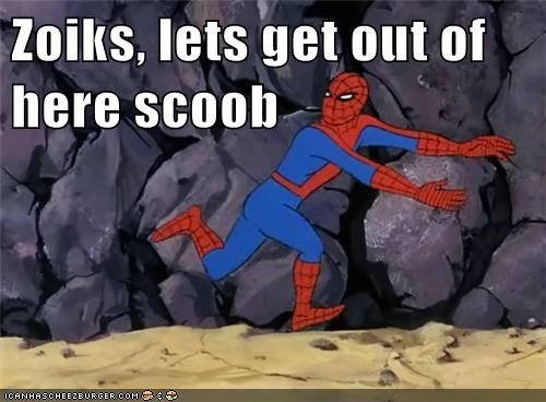 scooby doo Spider-Man Super-Lols zoinks - 5731134208