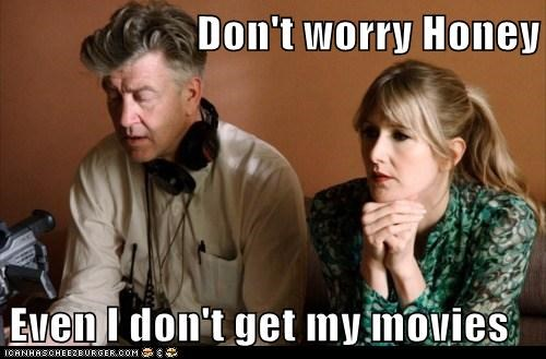 actor,celeb,david lynch,director,funny,laura dern