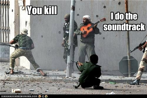 You kill I do the soundtrack