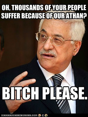 OH, THOUSANDS OF YOUR PEOPLE SUFFER BECAUSE OF OUR ATHAN?