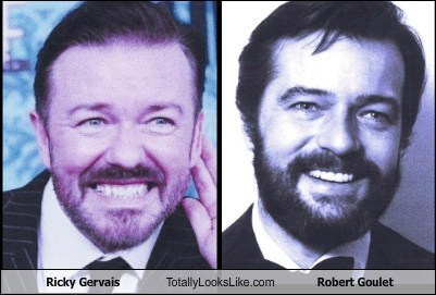 celeb,funny,ricky gervais,robert goulet,TLL