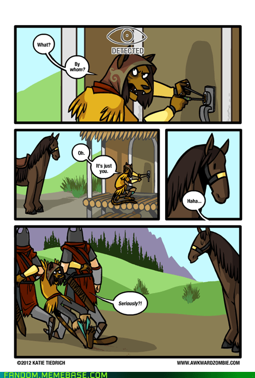 best of week,horse,It Came From the Interwebz,Skyrim,thief,video games