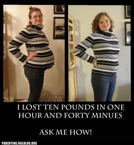 ask me how lost ten pounds miracle of childbirth pregnancy weight loss - 5732669440