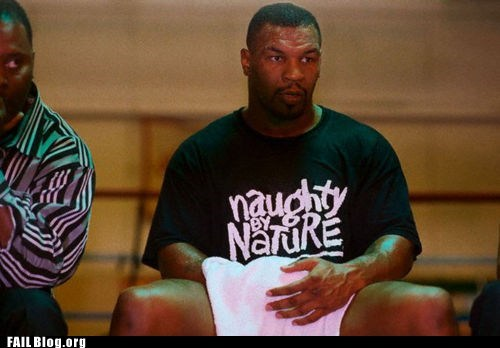 celeb,mike tyson,naughty by nature,pose,shirt