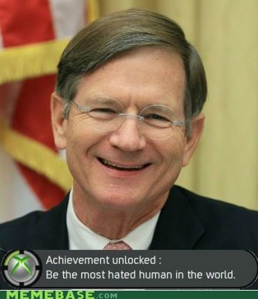 achievement,hatred,Memes,senator,SOPA