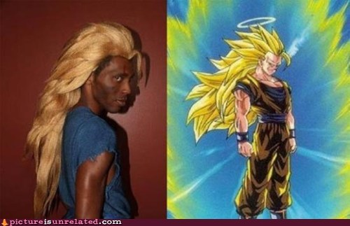 best of week,costume,Dragon Ball Z,super saiyan,wtf