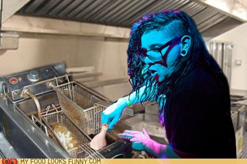 best of the week,chicken,cooking,dubstep,fryer,photoshop,skrillex