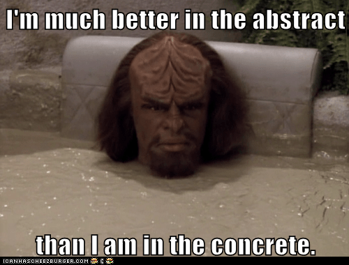 abstract art concrete jokes Michael Dorn Star Trek Worf - 5733184000