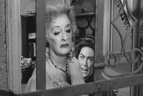 bette davis,Classic Cut of the Day,joan crawford,movies,what ever happened to baby jane