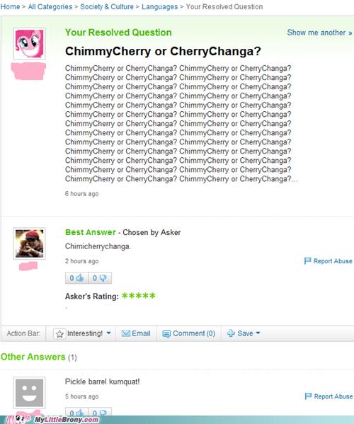 cherrychanga chimmicherry IRL pinkie pie yahoo answers - 5733309952