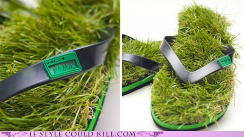 cool accessories grass kusa shoes sandals - 5733389056