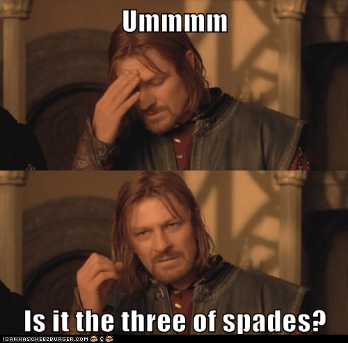 Boromir,card,fellowship of the ring,Lord of the Rings,magic tricks,psychic,sean bean