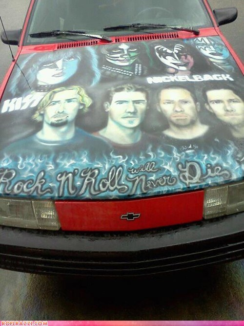 funny,KISS,Music,nickelback,wtf
