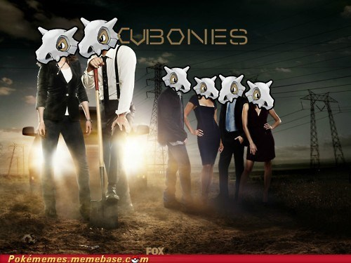 awesome bones crossover cubone the gravedigger TV - 5733604608