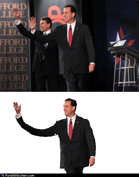 election 2012 political pictures Rick Santorum weird - 5733626368