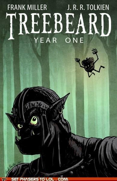 art comic book ent frank miller jrr tolkien Lord of the Rings origin treebeard - 5733847552