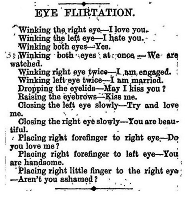 eye flirtation rules to winking winking - 5733875968